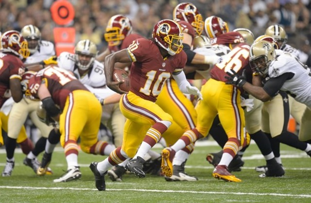 Washington Redskins vs. New Orleans Saints - Griffin III Washington stun New Orleans, 40-32 - The Boys Are Back blog