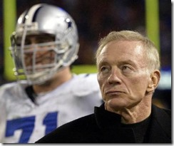 Dallas Cowboys Jerry Jones - Black Shirt