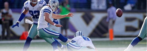 Dallas Cowboys kicker Dan Bailey - The Boys Are Back blog
