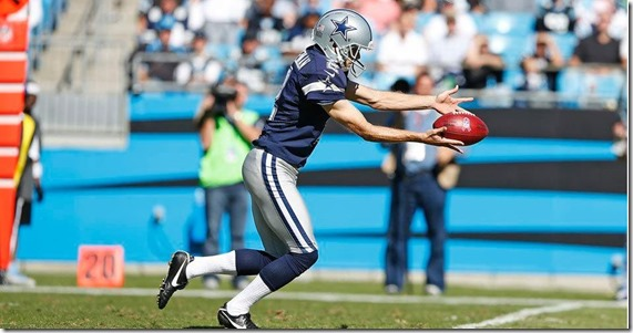 Dallas Cowboys punter Moorman - The Boys Are Back blog