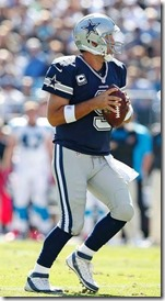 Dallas Cowboys QB Tony Romo vs Carolina Panthers - The Boys Are Back blog