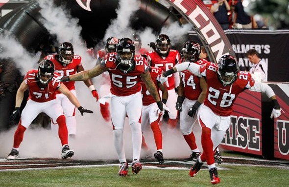 Dallas Cowboys scheduled to face the undefeated 2012 Atlanta Falcons - The Boys Are Back blog