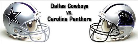 Dallas Cowboys vs. Carolina Panthers - The Boys Are Back blog