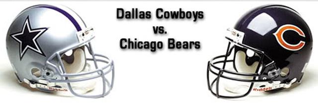 Dallas Cowboys vs Chicago Bears - The Boys Are Back blog