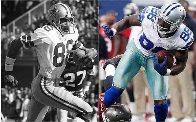 Drew Pearson (left) and Dez Bryant - The Boys Are Back blog