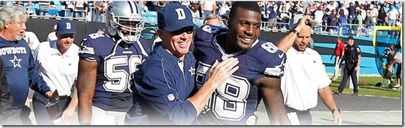 EGGSHELL OFFENSE–BOMBSHELL DEFENSE - Dallas Cowboys leave Carolina with crucial win - The Boys Are Back blog