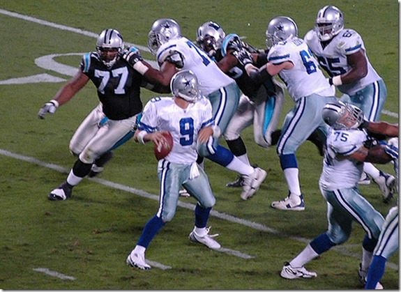 Flashback 2006 - Tony Romo's first start as Dallas Cowboys QB - Carolina Pathers - The Boys Are Back blog