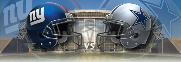 GAMEDAY - Dallas Cowboys vs. New York Giants - NFL - The Boys Are Back blog