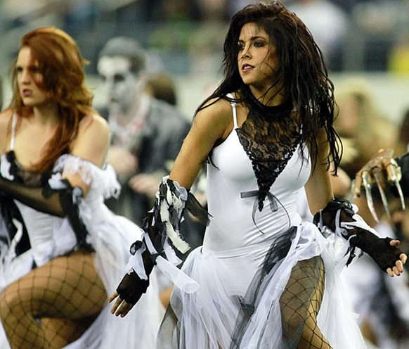 Happy Halloween - Dallas Cowboys Cheerleaders 2 - The Boys Are Back blog