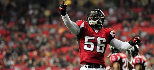 Dallas Cowboys vs Atlanta Falcons LB Sean Weatherspoon - The Boys Are Back blog