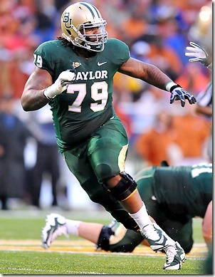 Robert T. Griffin earned All-Big 12 honors as a senior at Baylor - The Boys Are Back blog