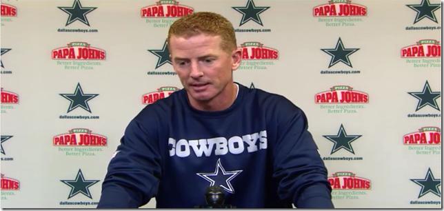 VIDEO - Jason Garrett Press Conference - Dallas vs Chicago - The Boys Are Back blog