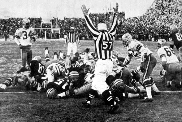 1967 Ice Bowl - The Boys Are Back blog