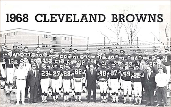 1968 Cleveland Browns - The Boys Are Back blog