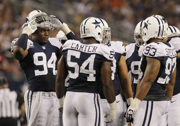 2012 Dallas Cowboys defense loses Bruce Carter to IR - The Boys Are Back blog
