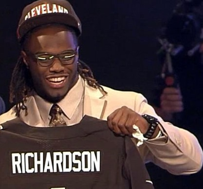 cleveland browns rookie rb trent richardson vs dallas cowboys 2012 - The Boys Are Back blog