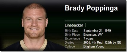 Dallas Cowboys linebacker Brady Poppinga signed 2012 - The Boys Are Back blog