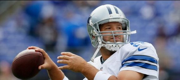 Dallas Cowboys QB Tony Romo vs Baltimore Ravens - The Boys Are Back blog