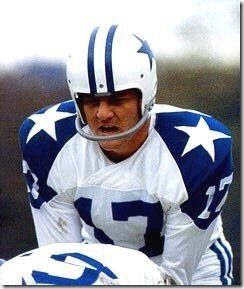Dallas Cowboys quarterback Don Meredith - The Boys Are Back blog