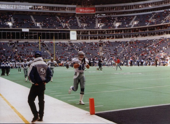 Dallas Cowboys special teams Bill Bates at Texas Stadium - The Boys Are Back blog