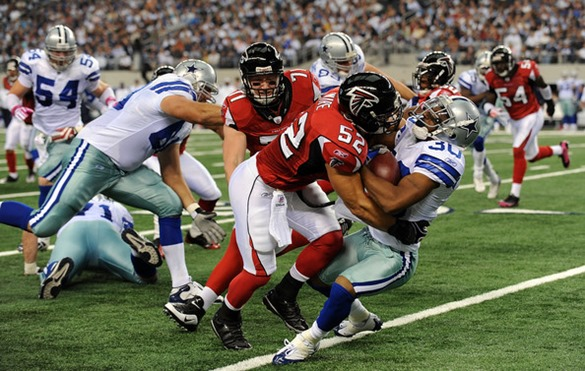 Dallas Cowboys vs. Atlanta Falcons - Tale of Two Cities - The Boys Are Back blog