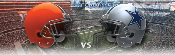 Dallas Cowboys vs Cleveland Browns 2012 - The Boys Are Back blog