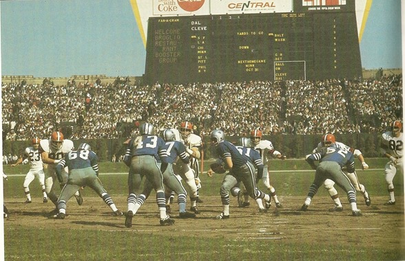 Dallas Cowboys Vs Cleveland Browns rivalry Cotton Bowl - The Boys Are Back blog
