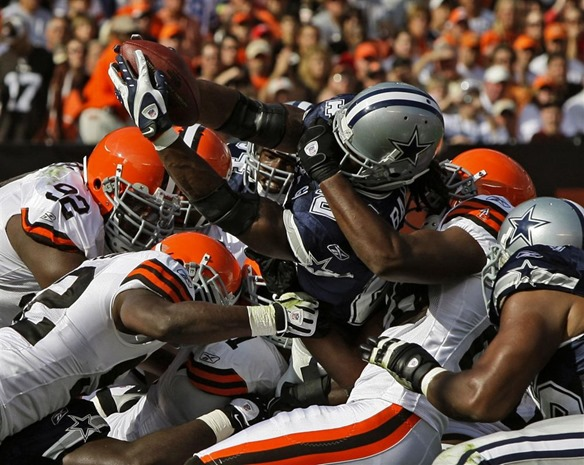 Dallas Cowboys vs. Cleveland Browns rivalry - The Boys Are Back blog