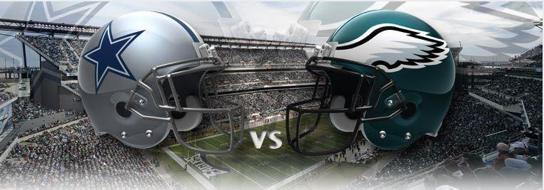 Philadelphia eagle game score