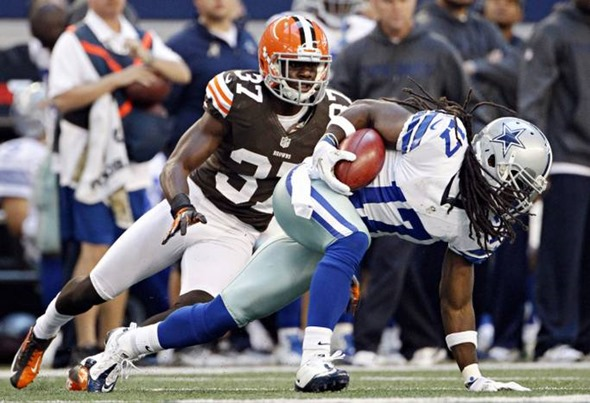 Dallas Cowboys wide receiver Dwayne Harris (17) vs Cleveland Browns - The Boys Are Back blog