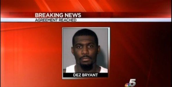 Dez Bryant reaches deal with Dallas DA - The Boys Are Back blog