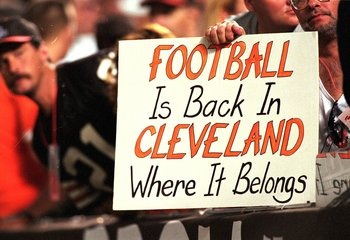 Football is back in Cleveland - The Boys Are Back blog