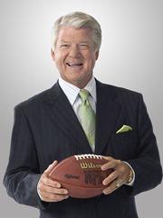 FOX NFL SUNDAY analyst Jimmy Johnson.
