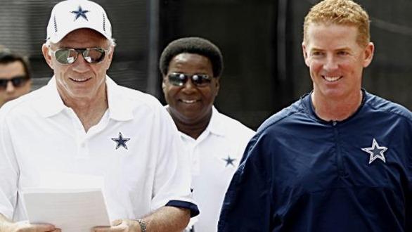 Jerry Jones and Jason Garrett - Dallas Cowboys - The Boys Are Back blog