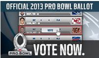 NFL 2012-2013 Pro Bowl Ballot - Vote Now - The Boys Are Back blog