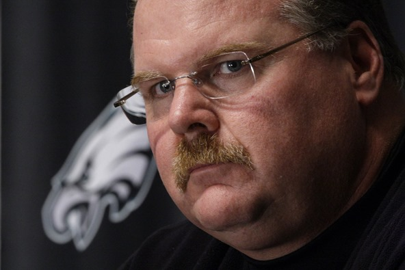 Philadelphia Eagles coach Andy Reid - The Boys Are Back blog