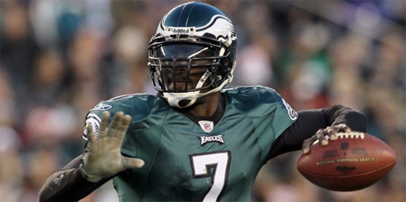 Philadelphia Eagles quarterback Michael Vick - The Boys Are Back blog