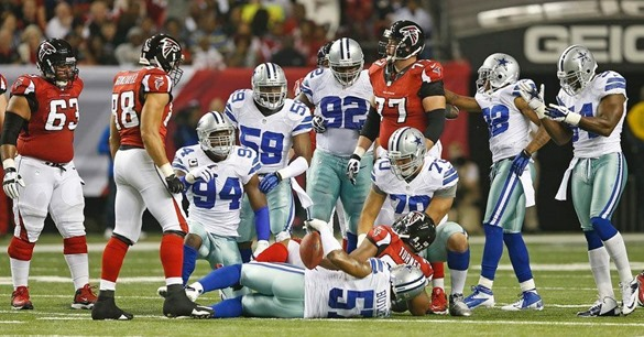 SEALING THE DEAL - Unbeaten Atlanta Falcons pull away from Dallas Cowboys in fourth quarter - The Boys Are Back blog