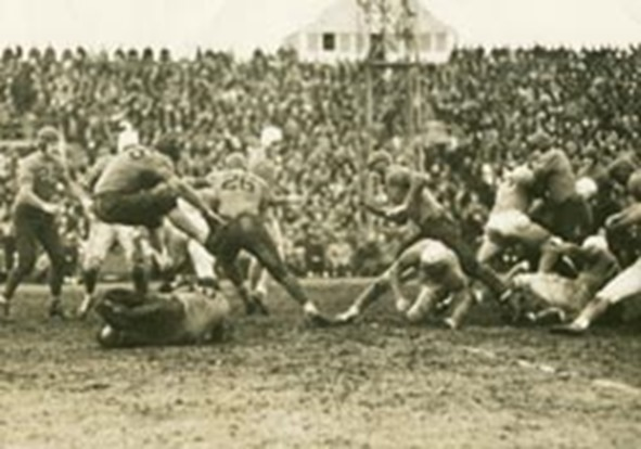 The Lions battled the Bears on Thanksgiving Day in 1934 - The Boys Are Back blog
