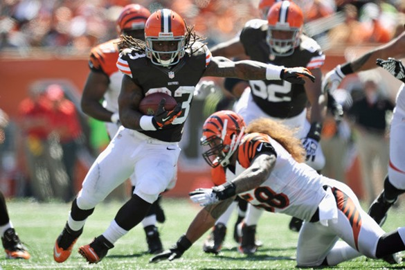 Trent Richardson Cleveland Browns running back - The Boys Are Back blog