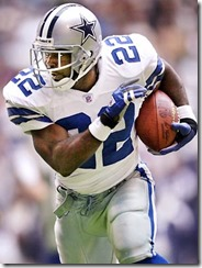 Trent Richardson idol Emmitt Smith - The Boys Are Back blog