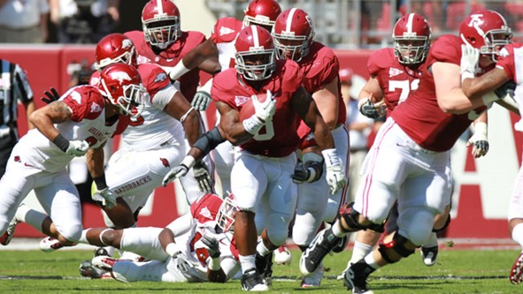 Trent Richardson named SEC Player of the Week - The Boys Are Back blog