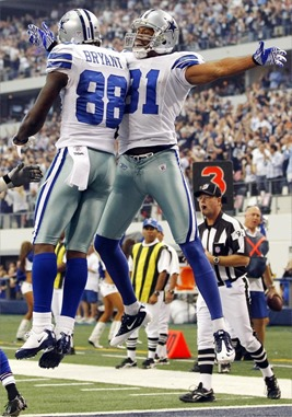 TWO DEEP - Laurent Robinson and Dez Bryant - The Boys Are Back blog
