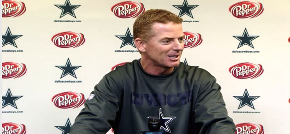Video - Jason Garrett Press Conference - Cowboys vs Browns - The Boys Are Back blog