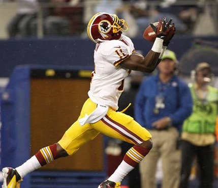 Washington Redskins wide receiver Aldrick Robinson (11) pulls down a touchdown pass 2012 - The Boys Are Back blog