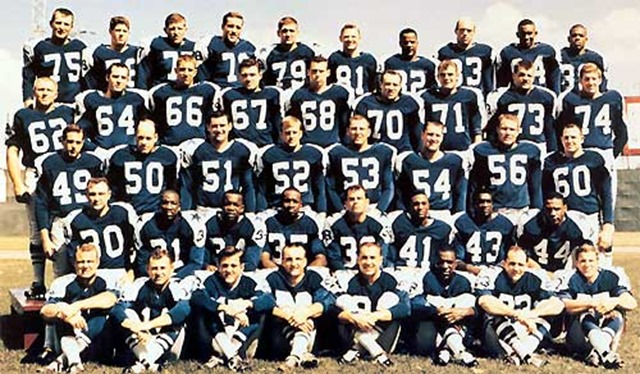1962 Dallas Cowboys - Team Photo - The Boys Are Back blog