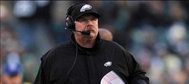 Andy Reid - Philadelphia Eagles head coach (1999-2012) - The Boys Are Back blog