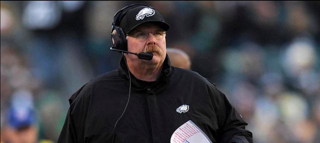 Andy Reid - Philadelphia Eagles head coach (1999-2012) - The Boys Are Back blog