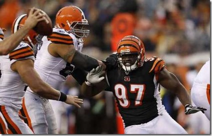Cincinnati Bengals defensive tackle Geno Atkins - The Boys Are Back blog