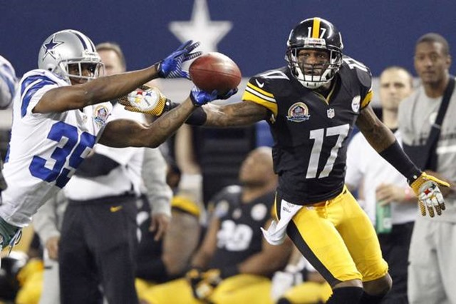 Dallas Cowboys CB Brandon Carr interception against Pittsburgh Steelers - The Boys Are Back blog